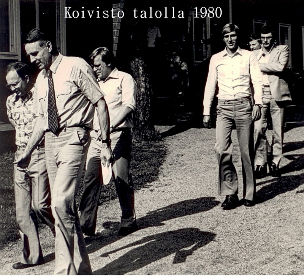 45MaunoKoivistotalolla1980