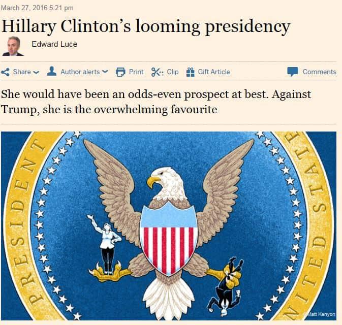 HillaryClintoninpresidenttiysEdwardLuce20160327