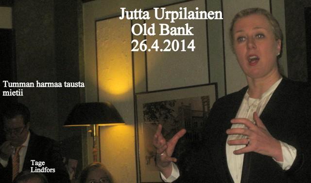 JuttaUrpilainenOldank20140226