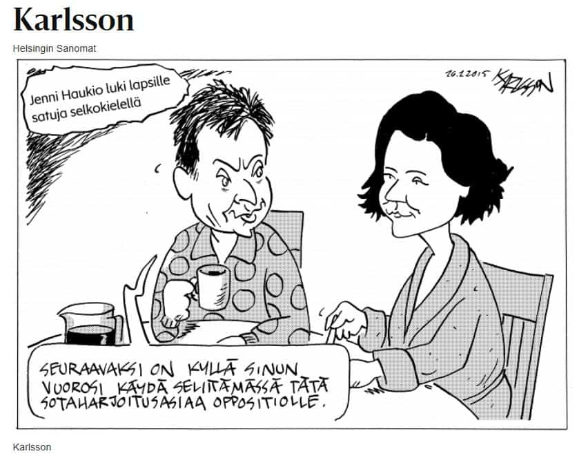 Karlssonsotaharjoitusselostus20160226