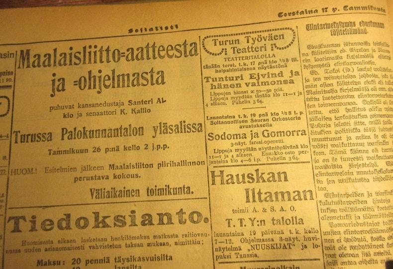 Sosialistiilmoitusmmalaisliitto19180117