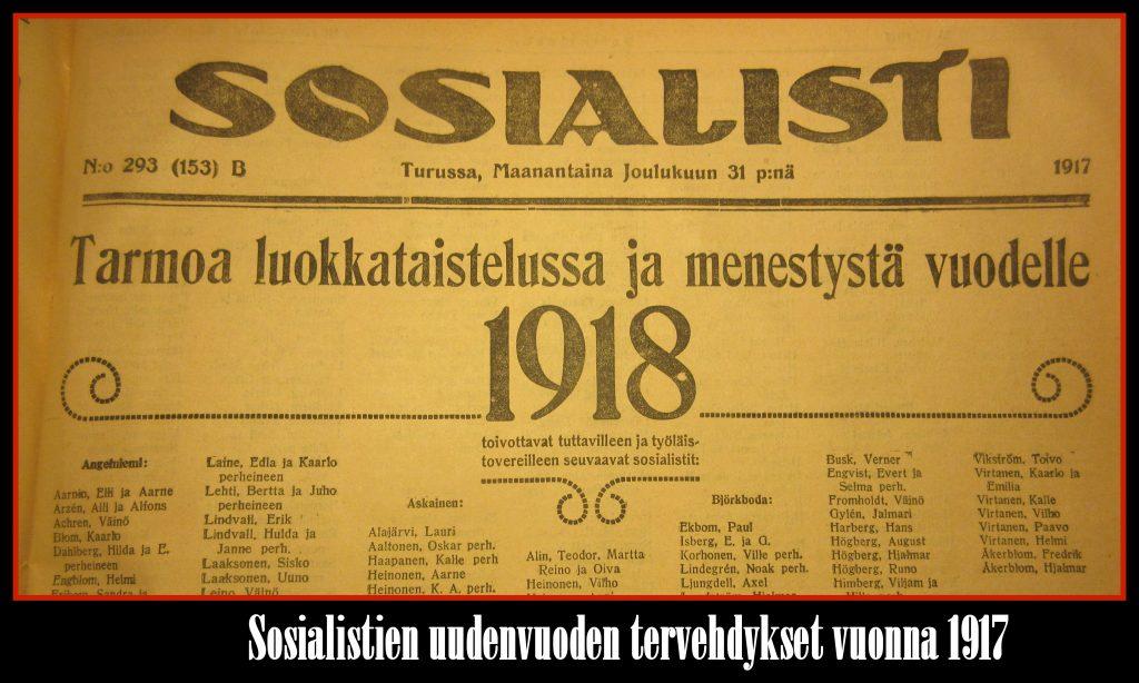 SosialistinUudenvuodentervehdykset1917
