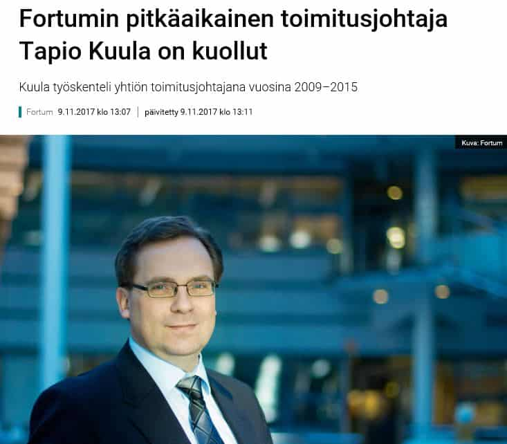 TapioKuulaonkuollut20171109Yle