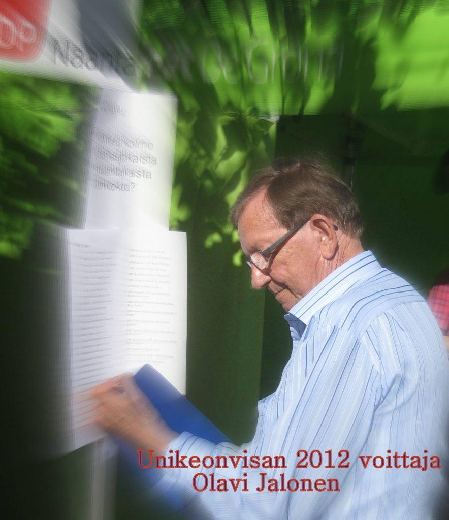 UnikeonvisanvoittajaOlaviJalonen20120727