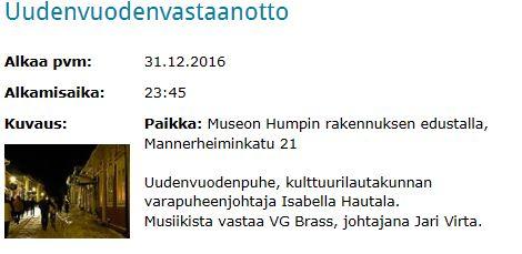 UudenVuodenvastaanotto20161231