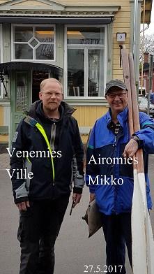 VenemiesVilleVuoriajaAiromies20170527