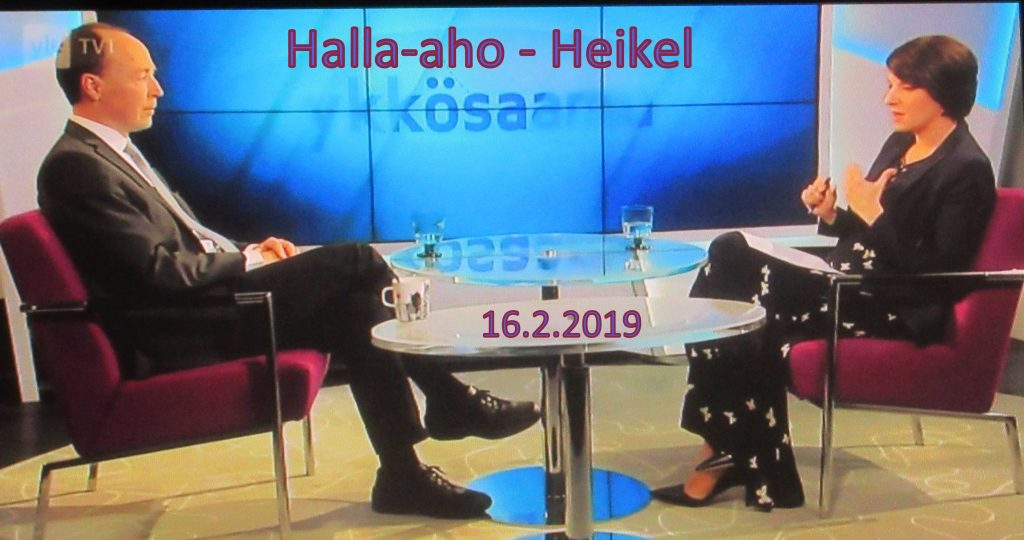 Halla-aho Ykkösaamussa 20190216JPG