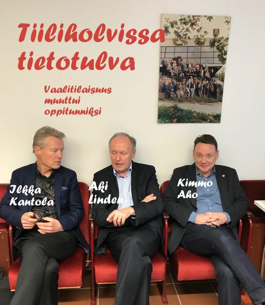 Kantola Linden oppitunti Aho tiiliholvi 20190209
