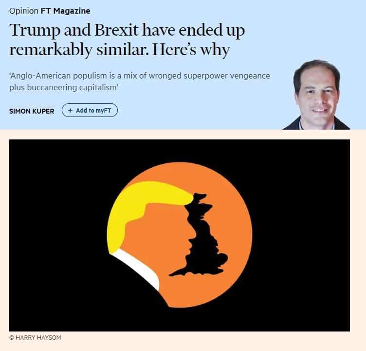Trumpin ja Brexitin samankaltaisuus 20190207
