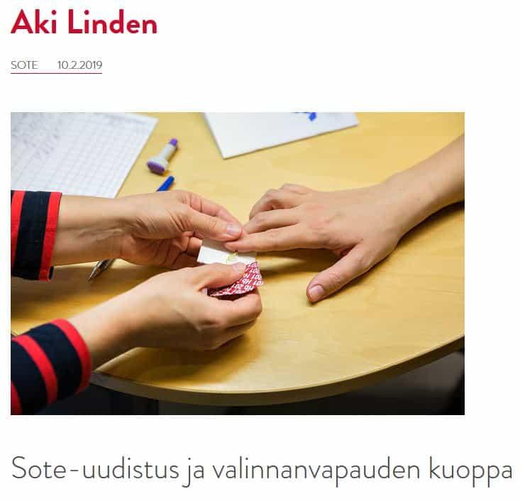 Valinnan vapauden kuoppa Aki Linden 20190210JPG