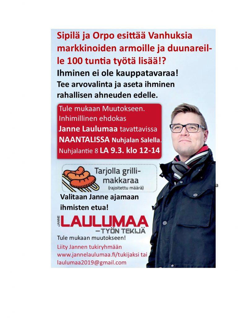 Laulumaa Nuhjalaflayer 20190207