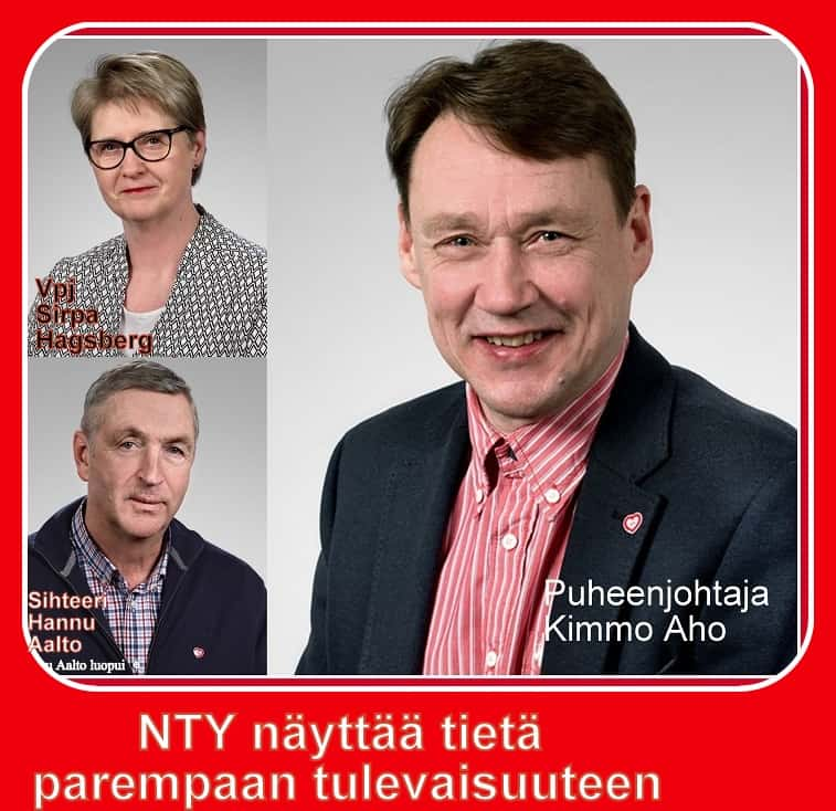 NTY johtokunta pjt ja siht.2018 ja 2019