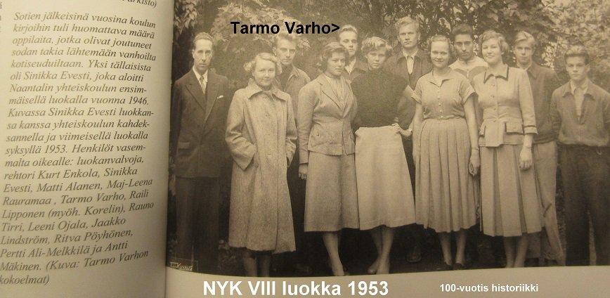 NYK 8. Tarmo Varhon luokka 20190302