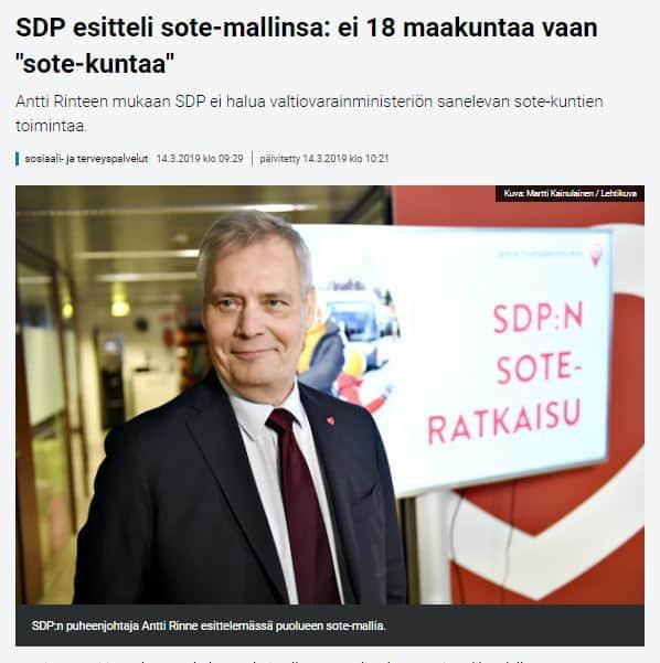 SDP msotemalli 20190314