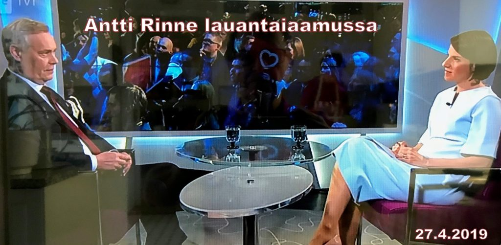 Antti Rinne ja Heikel