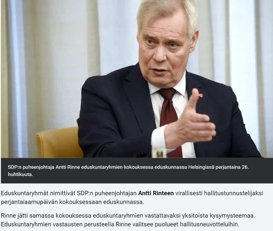 Antti Rinteen kysymykset 20190426