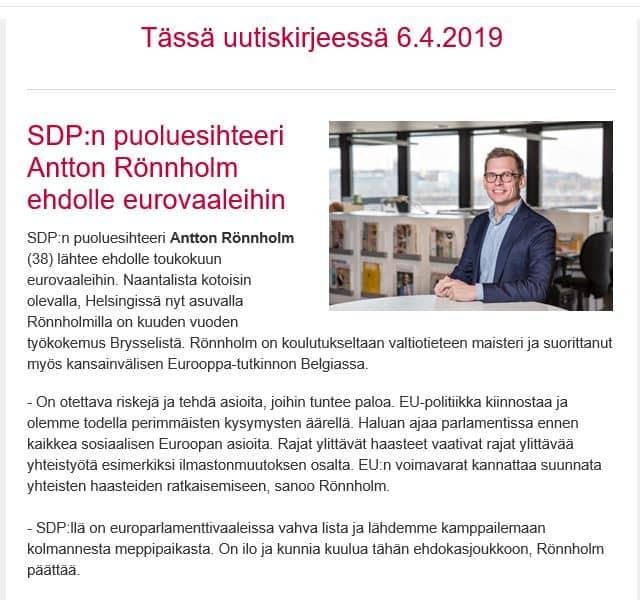 Antton Rönnholm ehdokkaaksi 20190406JPG
