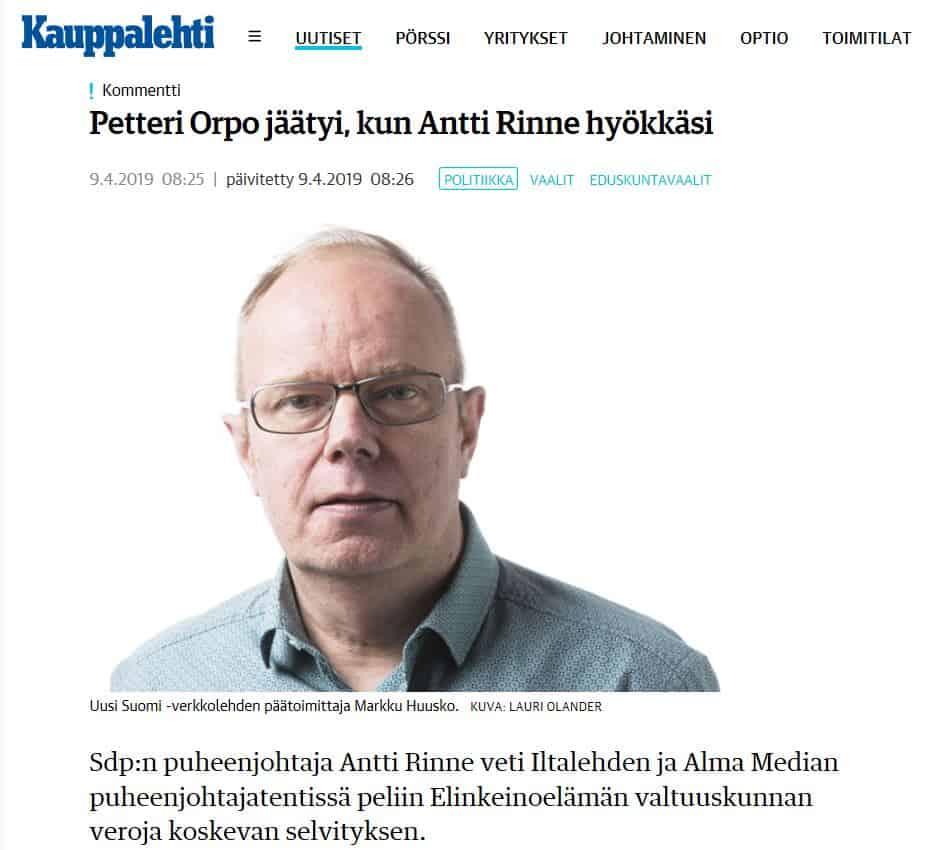 Orpo hyytyi 20190409