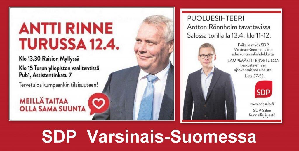 SDP Varsinais-Suomessa 20190412