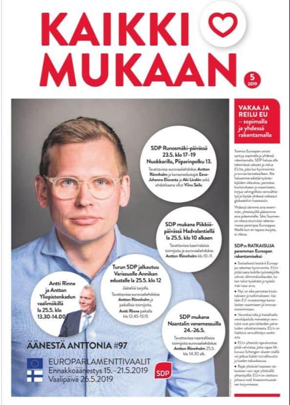 Kaikki mukana Antton Turkulaisessa 20190522