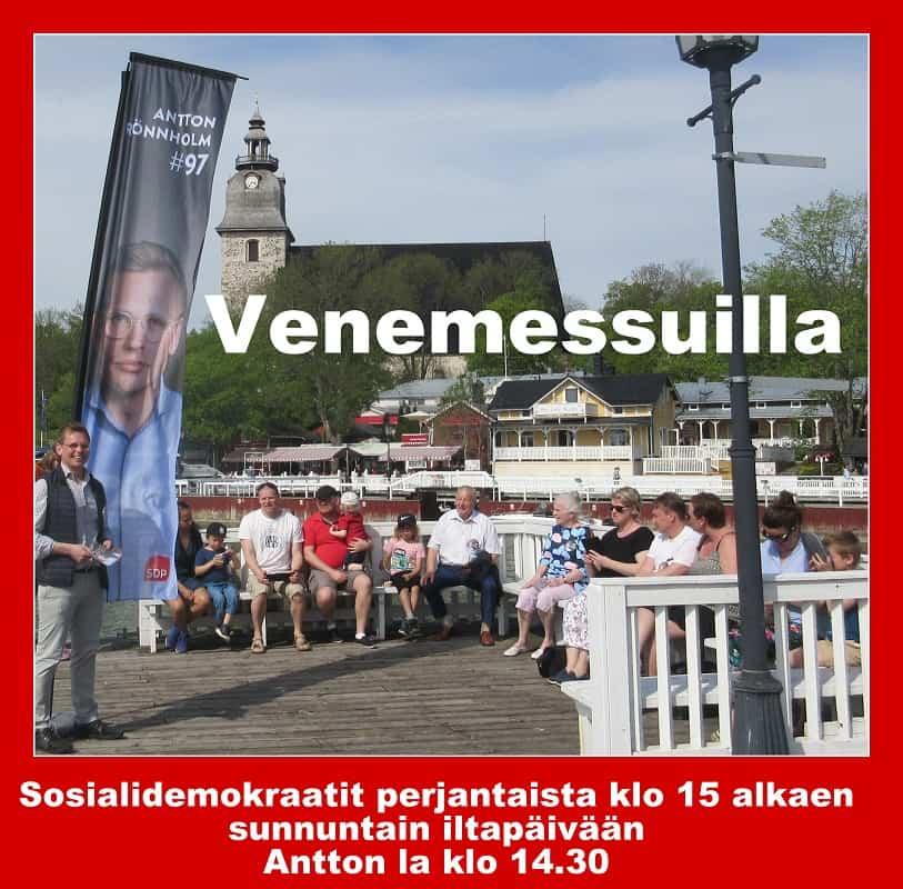 SDP venemessuilla 20190524