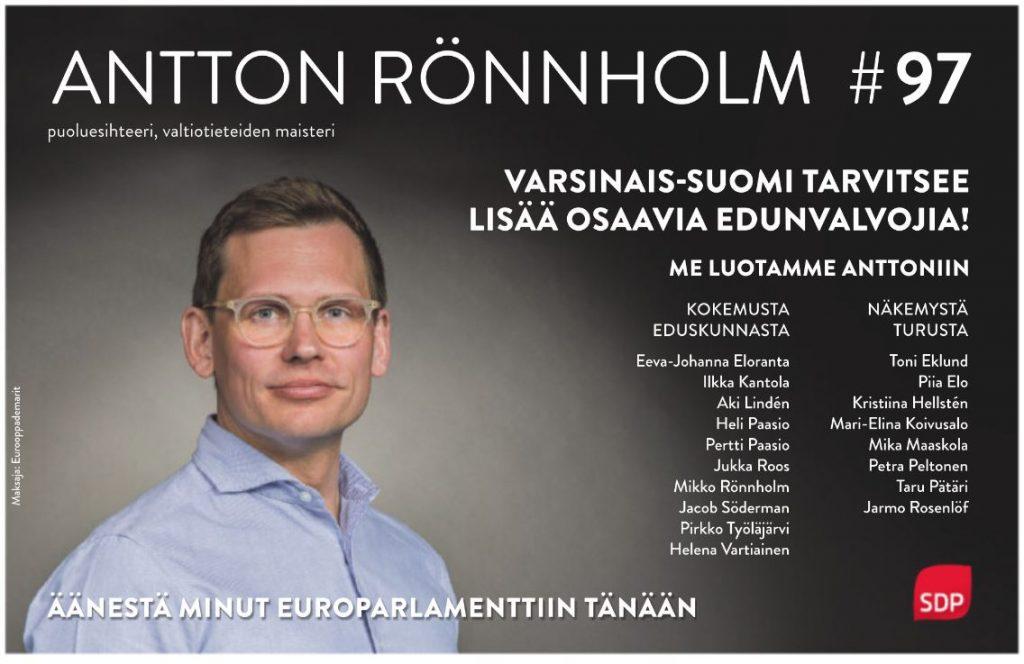 Varsinais-Suomen edunvalvoja Antton TS 20190526