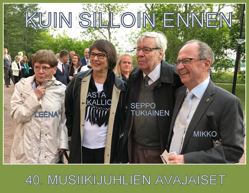 Muusikkijuhlien Avaajaiset 20190604