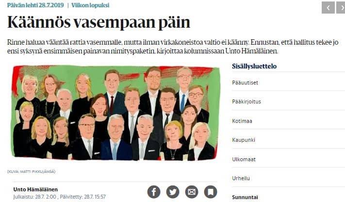 Käännös vasempaan Unto Hämäläinen Hs 28.7.2019JPG