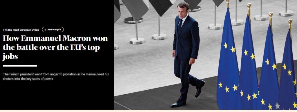 Kuinka Macron voitti kisan 20190705
