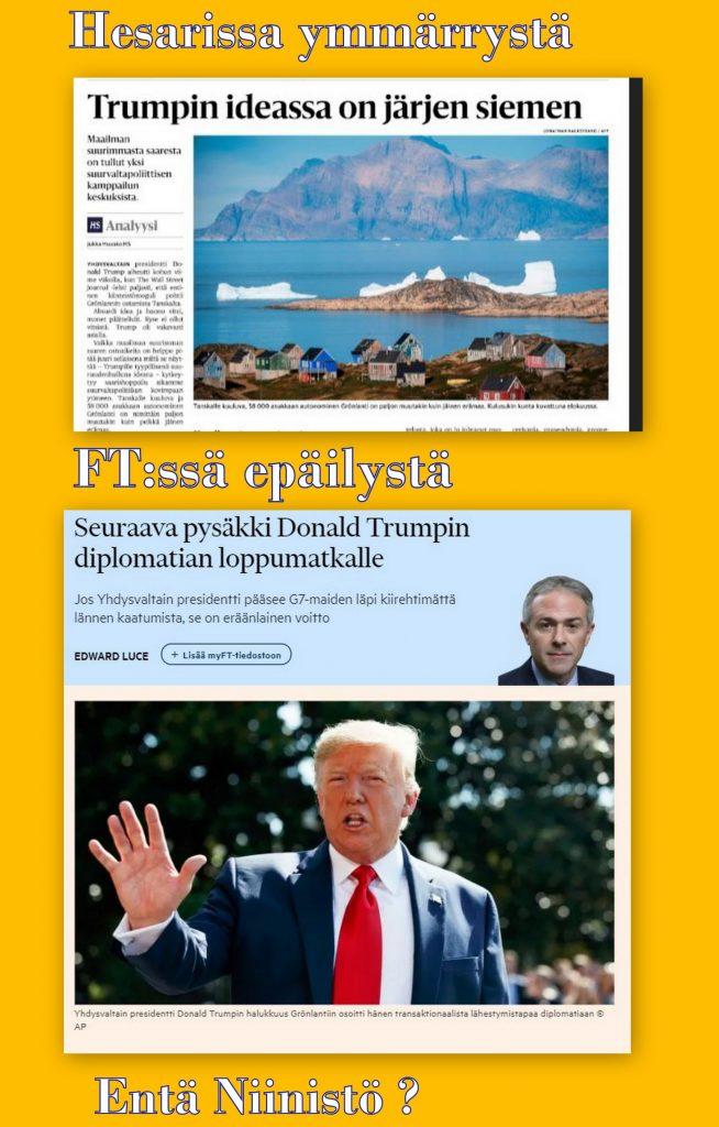 Grönlanti Trumph ja Niinistö 20190823