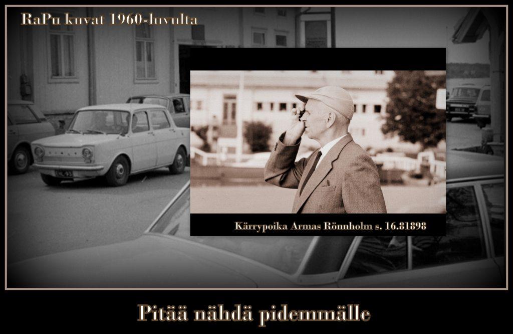 Rannan autot ja Armas Rönnholm 20190816jpg
