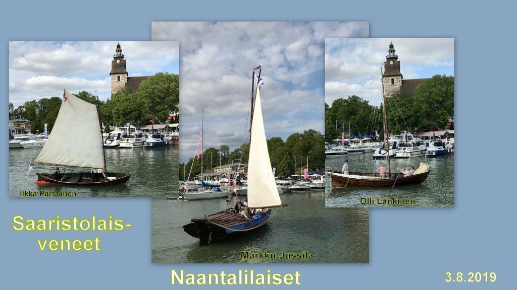 Saaristolaisveneet Naantalailaiset 20190803