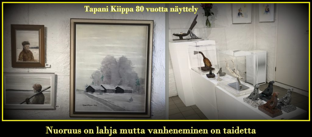 Tapani Kiipan 80 vuotis näyttely 20190829jpg