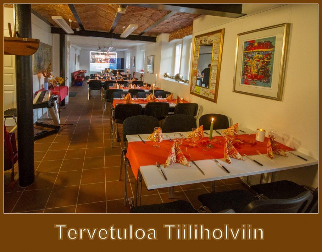 Tervetuloa Tiiliholviin 20190805