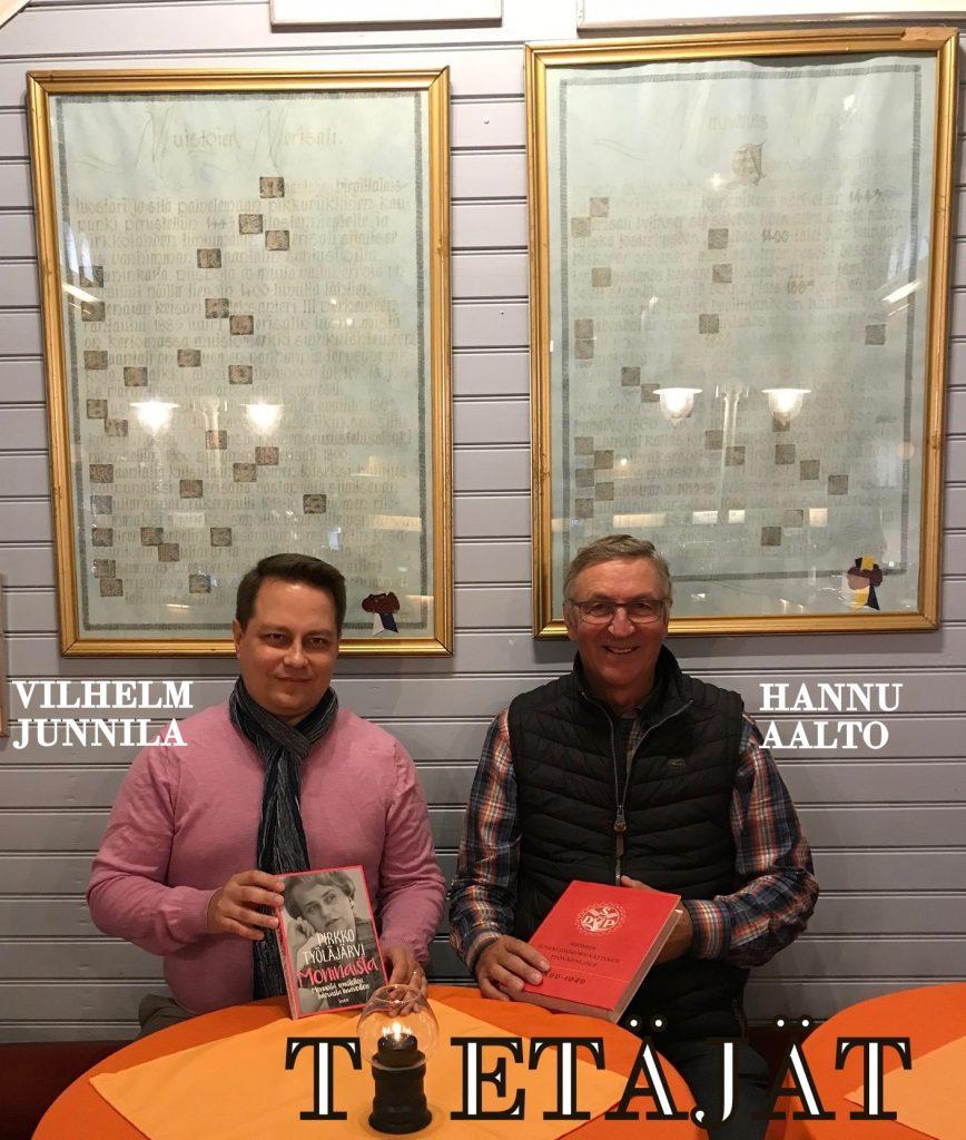 Hannu Aalto ja Vilhelm Junnila 20190921