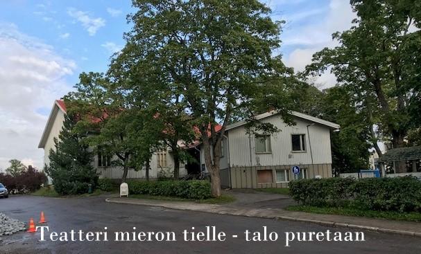 Teatteritalo vanha seurakuntatalo 20190909