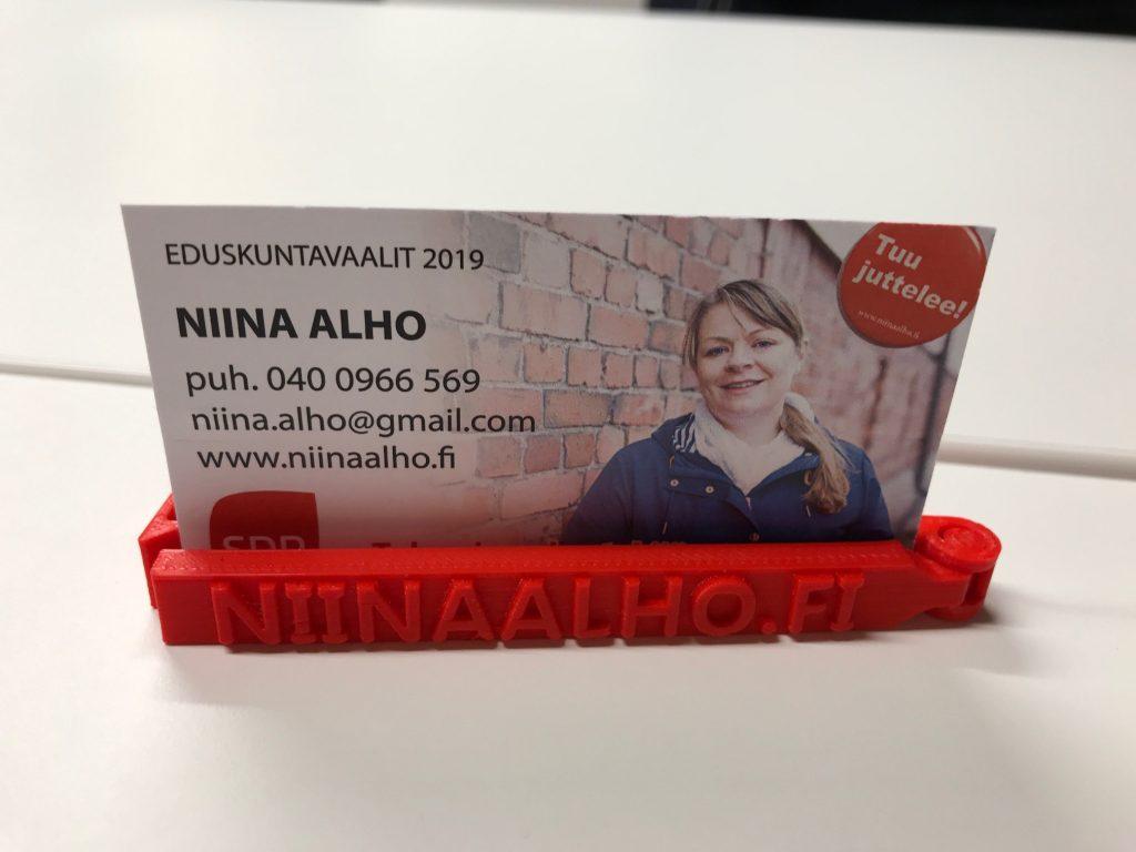 Niina Alho Tiilihovissa 20190203