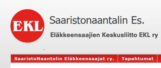 Saaristo naantalin Eläkkeensaajat 20191016JPG