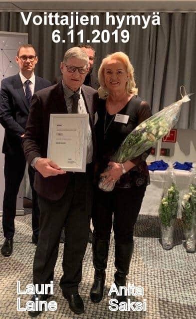 Anita saksi ja Lauri Laine Tarkastuslautakunta 20191106
