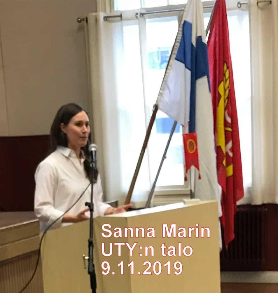 Saanna Marin Uki 20191109
