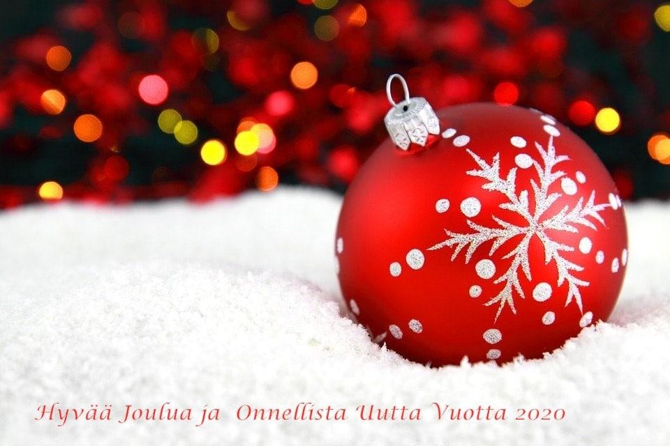 Hyvää Joulua SH 20191222