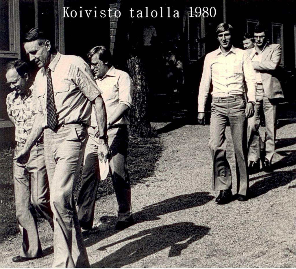 Koivisto talolla 1984