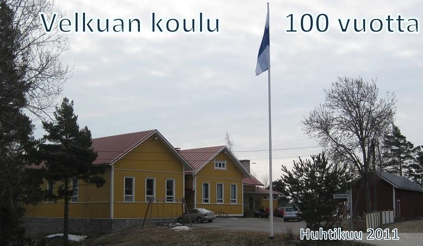 Velkuan koulu 100 v