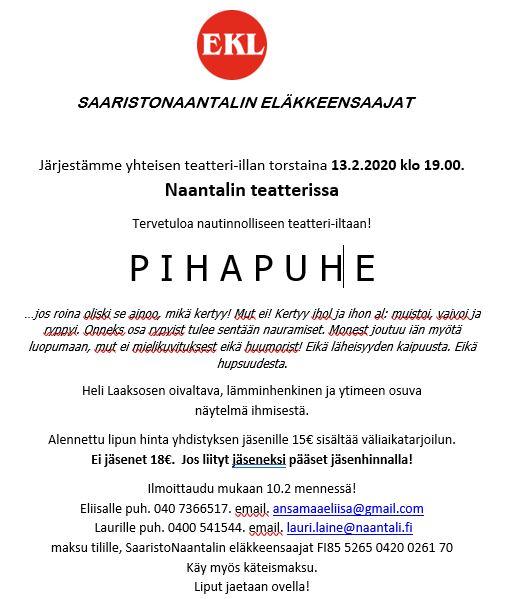Teatteri Eläkkeensaajat 20200122JPG