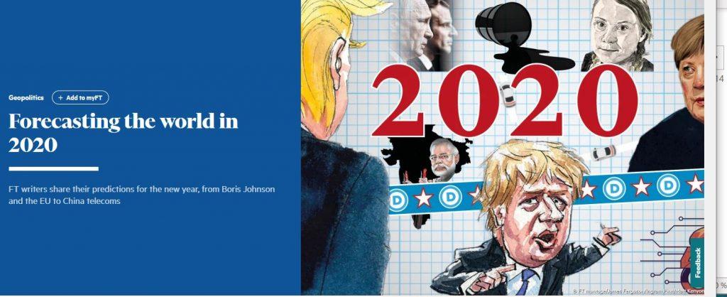 Vuoden 2020 ennusteet FT