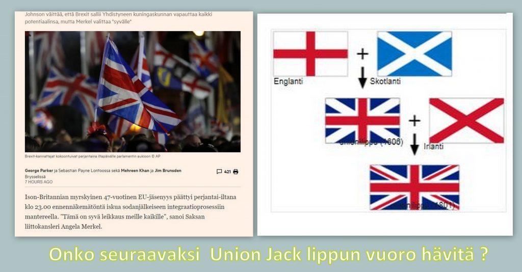 Brexit ja Union Jack 20200201
