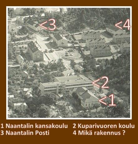 Ilmakuv 1963 Tuhkamarkkinat Tunnista talo 20200301