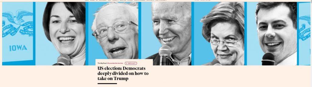 Iowa demokraattien esivali 20200202JPG