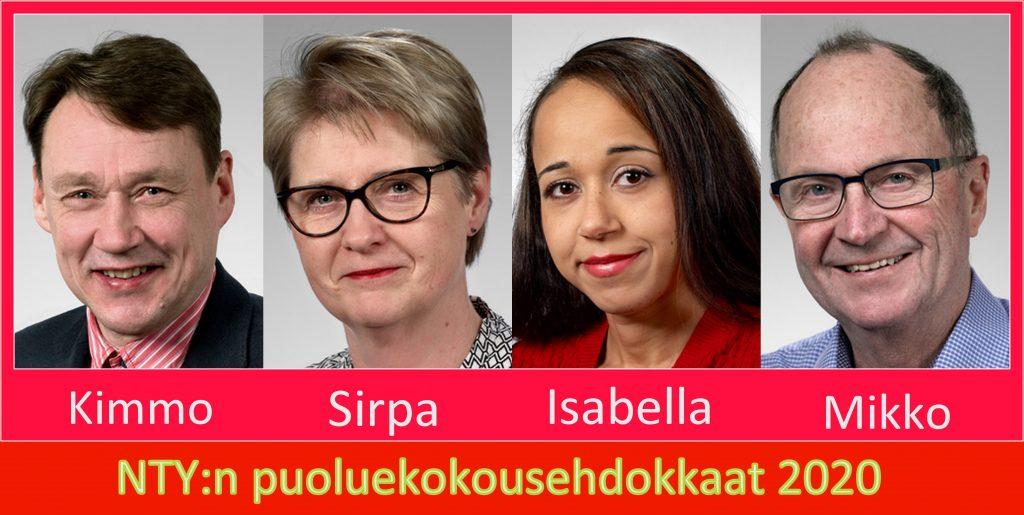 NTY puoluekokousehdokkaat 20200220