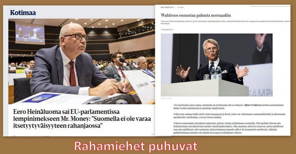 Rahamiehet Heinäluoma ja Wahlroos 20200209jpg